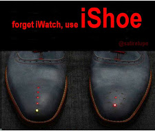 Forget iWatch, use iShoe