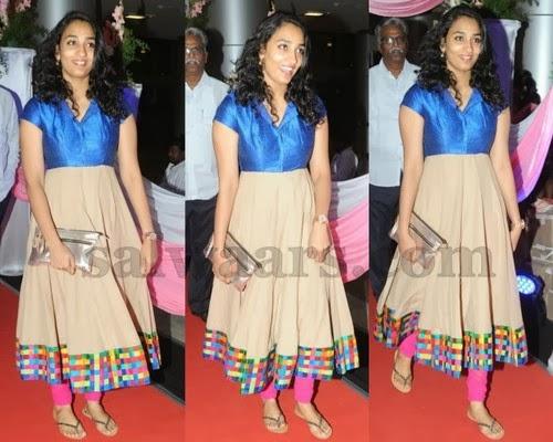 Actor Nani wife in Salwar