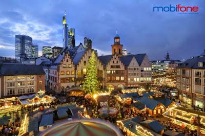 CTKM 'Sôi động mùa lễ hội' Mobifone nhận ngay vé du lịch Châu Âu miễn phí