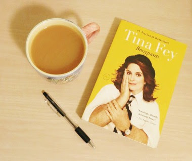 Tina Fey, Bossypants, book review, coffee