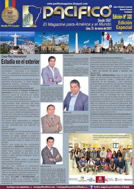 Revista Pacífico Nº 320 Edición Especial