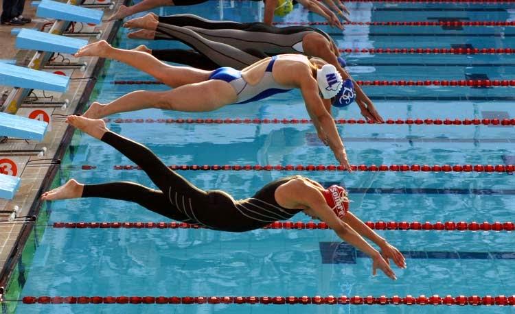 lesiones mas frecuentes en natacion: