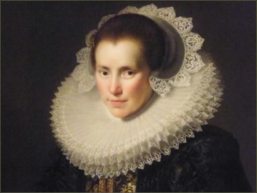 Portret Henrica Ploos van Amstel