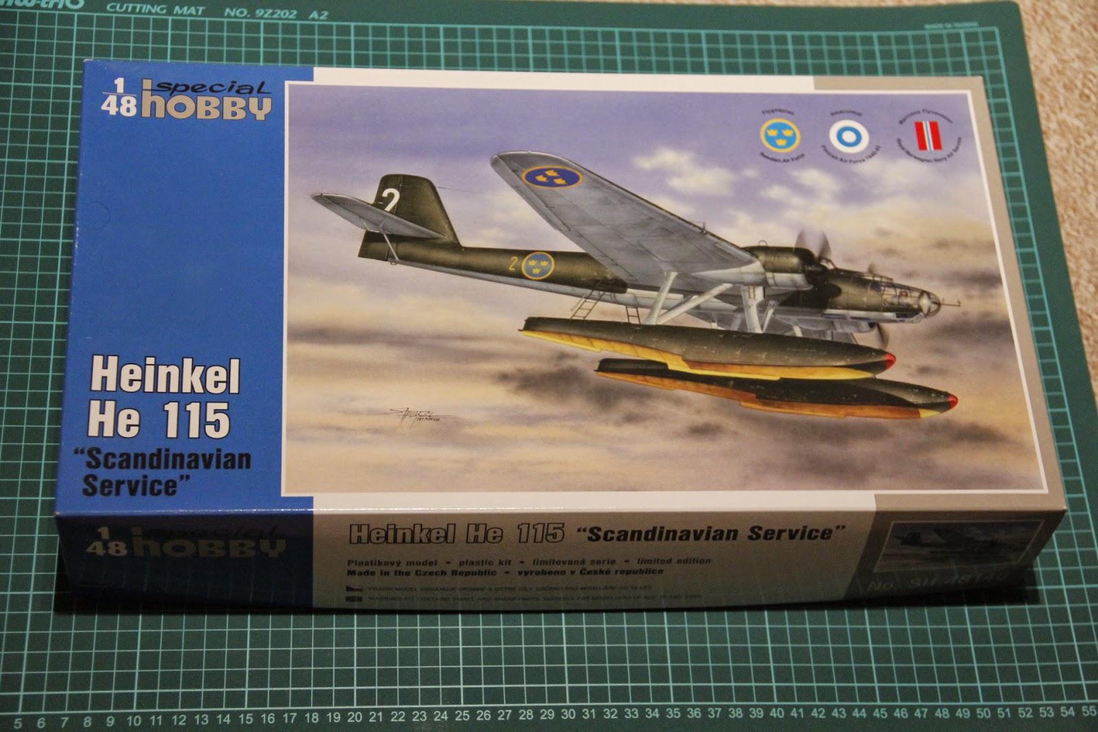 Special Hobby 1 48 Heinkel He 115 Scandinavian Service