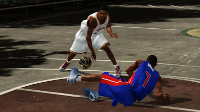 NBA 2K13 Kyrie Irving Ankle Breaker Crossover on Brandon Knight