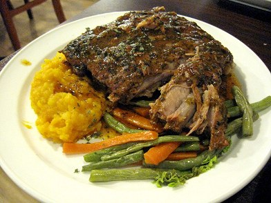 Alabama BBQ Pork Ribs