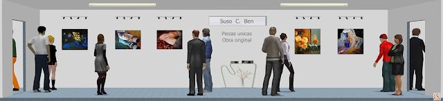 "<img src=""http://3.bp.blogspot.com/-S0wvKUWpBeQ/UjXSh3ZWMHI/AAAAAAAAKto/34Q6nU3vDV4/s1600/Exposici%C3%B3n+virtual++de+Suso+C+Ben.png"" alt=""Sala de exposición virtual de oleos del pintor Suso C. Ben""/>"