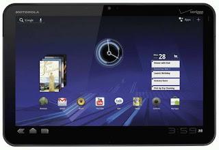 Motorola Xoom tablet images