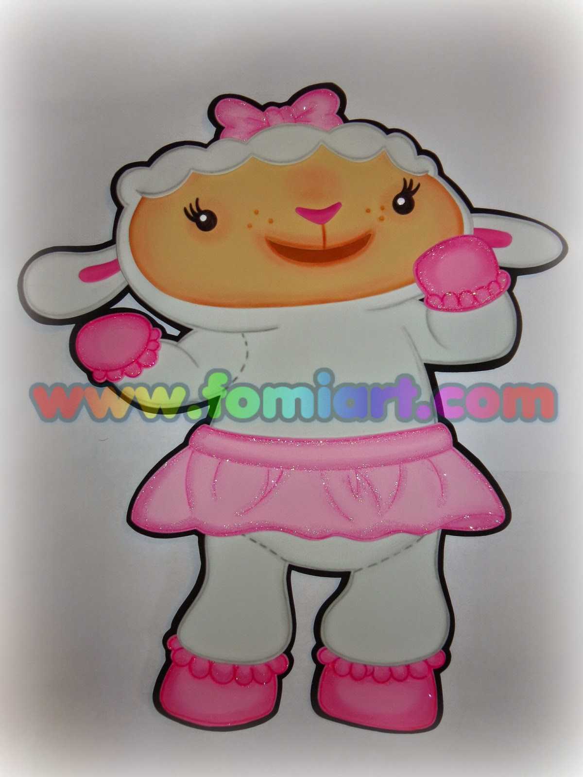 Lambie: doctora juguetes manualidades en goma eva