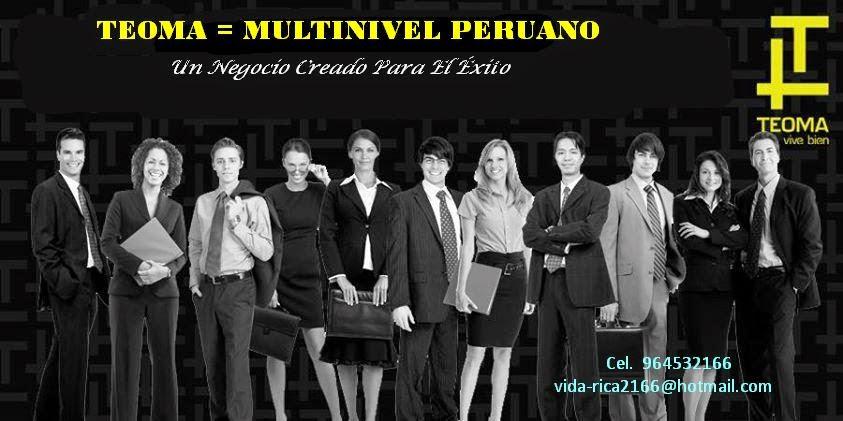 NEGOCIOS MULTINIVEL PERUANO