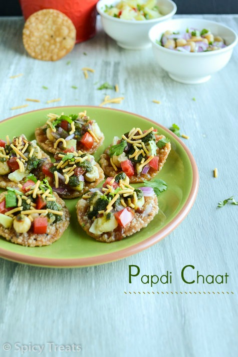 Papdi Chaat / Papdi & Papdi Chaat Recipe
