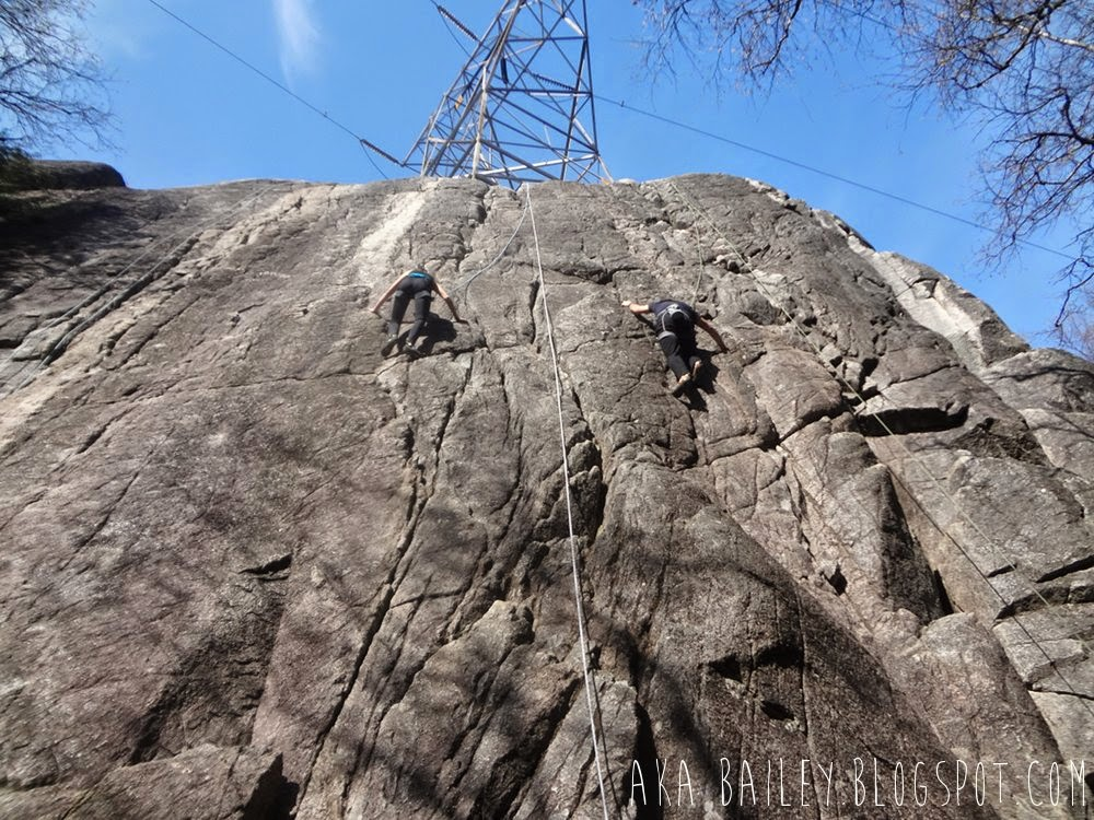 Sugarloaf, Rock climbing in Murrin Provincial Park, Squamish, BC