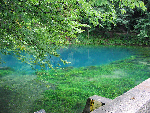 The Blautopf, Southern Germany, Nature, lake, amazing, environment, swabian jura's, river Blau, tapandaola111