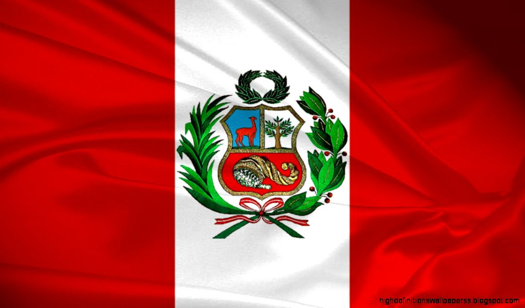 Peru Countries Flag Wallpaper