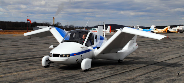 Terrafugia Flying Car ready for take off