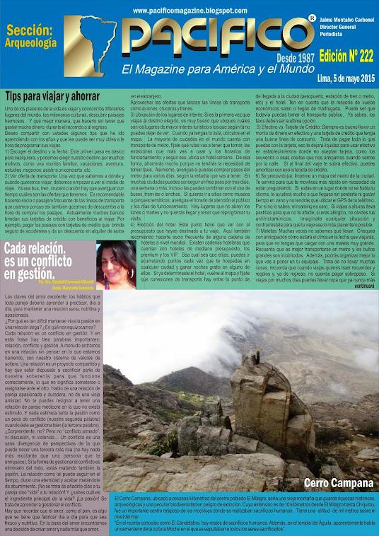 Revista Pacífico Nº 222 Arqueología