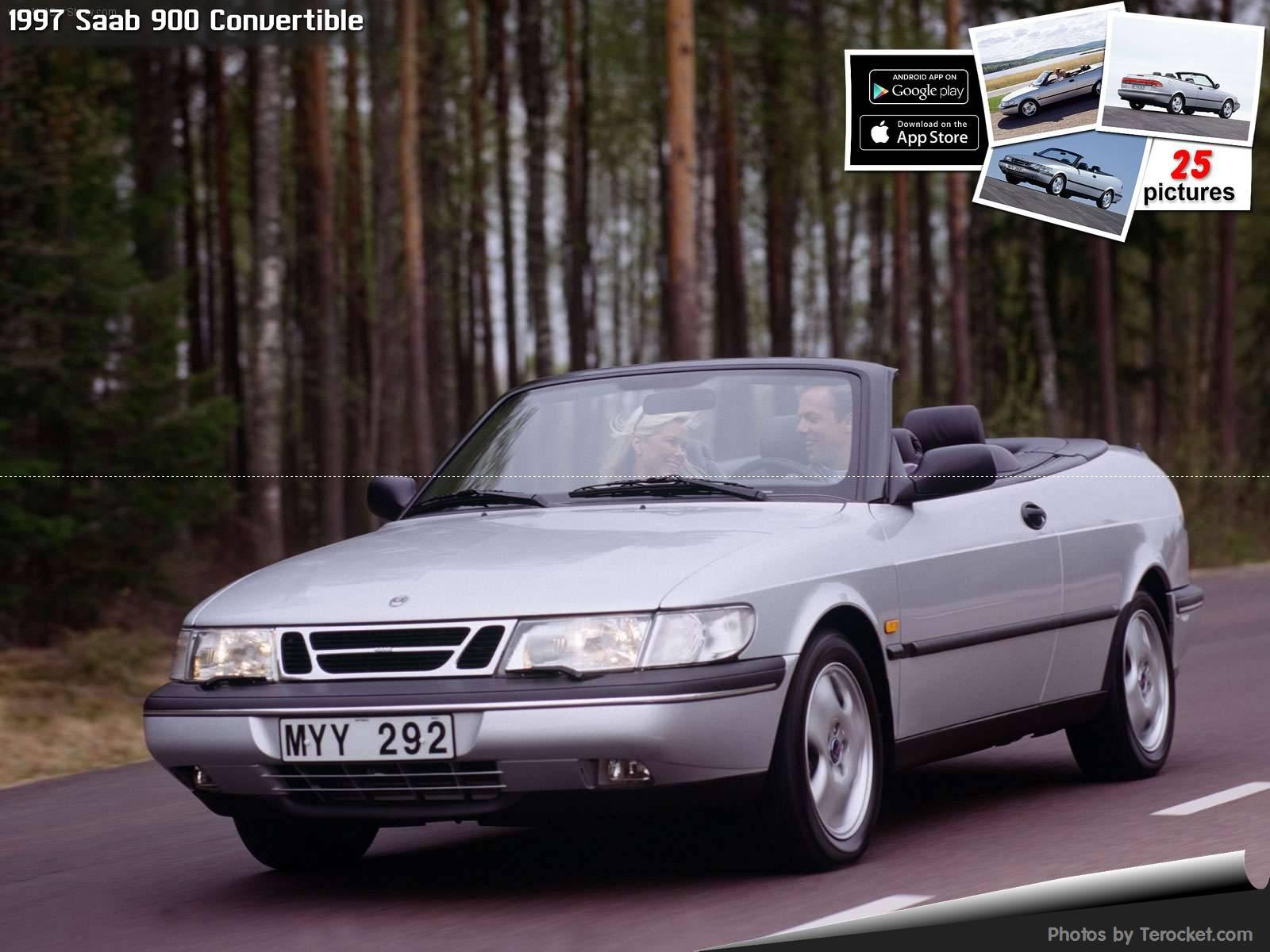 Hình ảnh xe ô tô Saab 900 Convertible 1997 & nội ngoại thất