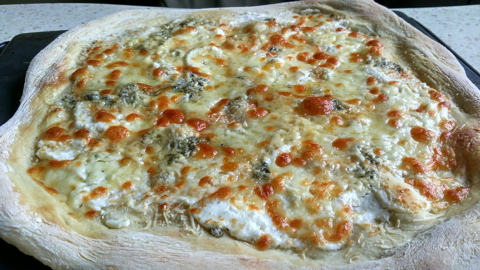 Рецепт пиццы четыре сыра в домашних условиях в духовке
