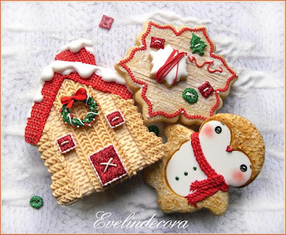 Christmas icing cookies ❤️🎄❤️ by Evelin Milanesi