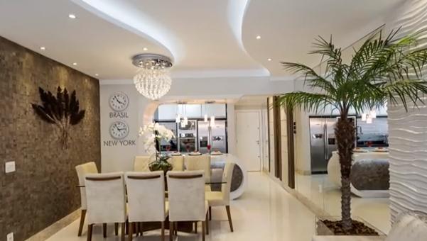 Construindo minha casa clean decora o de apartamento for Apartamentos modernos decorados