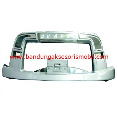 Bumper New Avanza/Xenia 06-11 Asli Silver Metalik