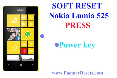 Soft Reset Nokia Lumia 525