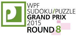 WPF Sudoku Grand Prix 2015 Round 8