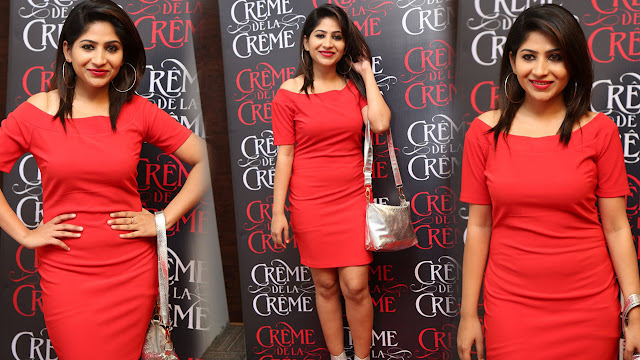Madhulagna Das Latest Photos At Creme De La Creme 1st Anniversary