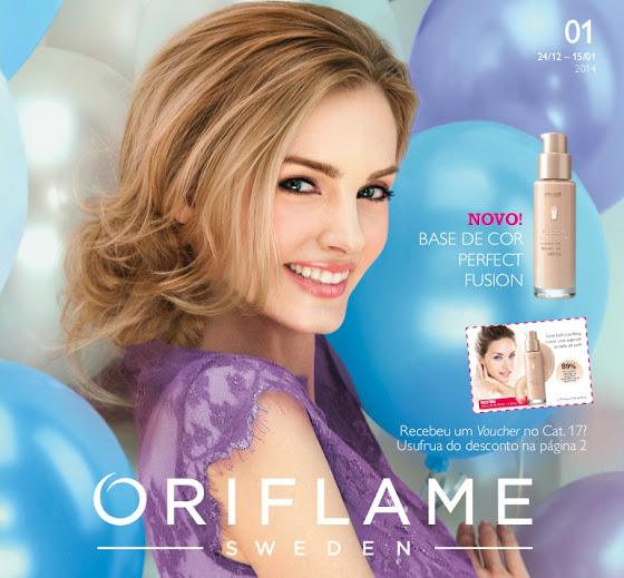 Catálogo 01 de 2014 da Oriflame