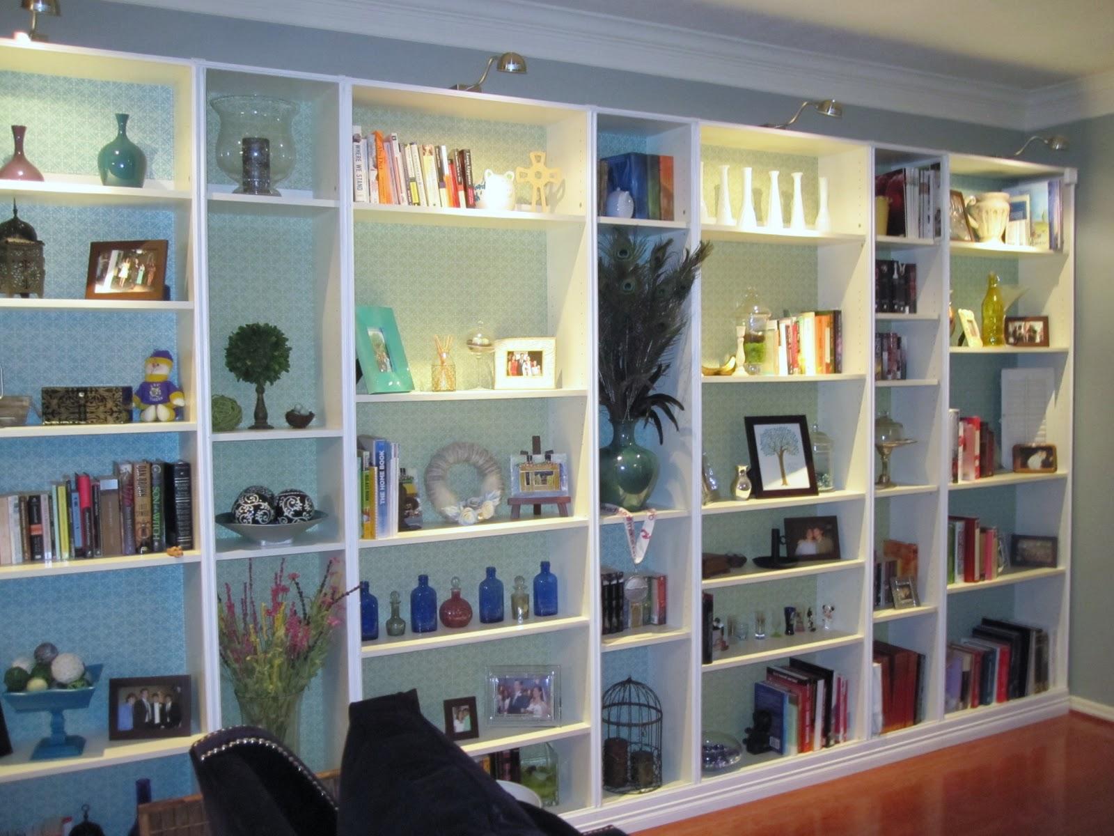 lazy owl boutique ikea hack built in bookshelves tutorial. Black Bedroom Furniture Sets. Home Design Ideas