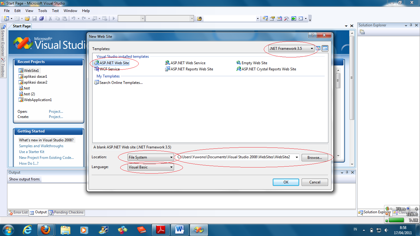 visual basic web browser How to open a web page in internal browser of visual studio visual basic web development working with the web browser control in visual studio 2005.