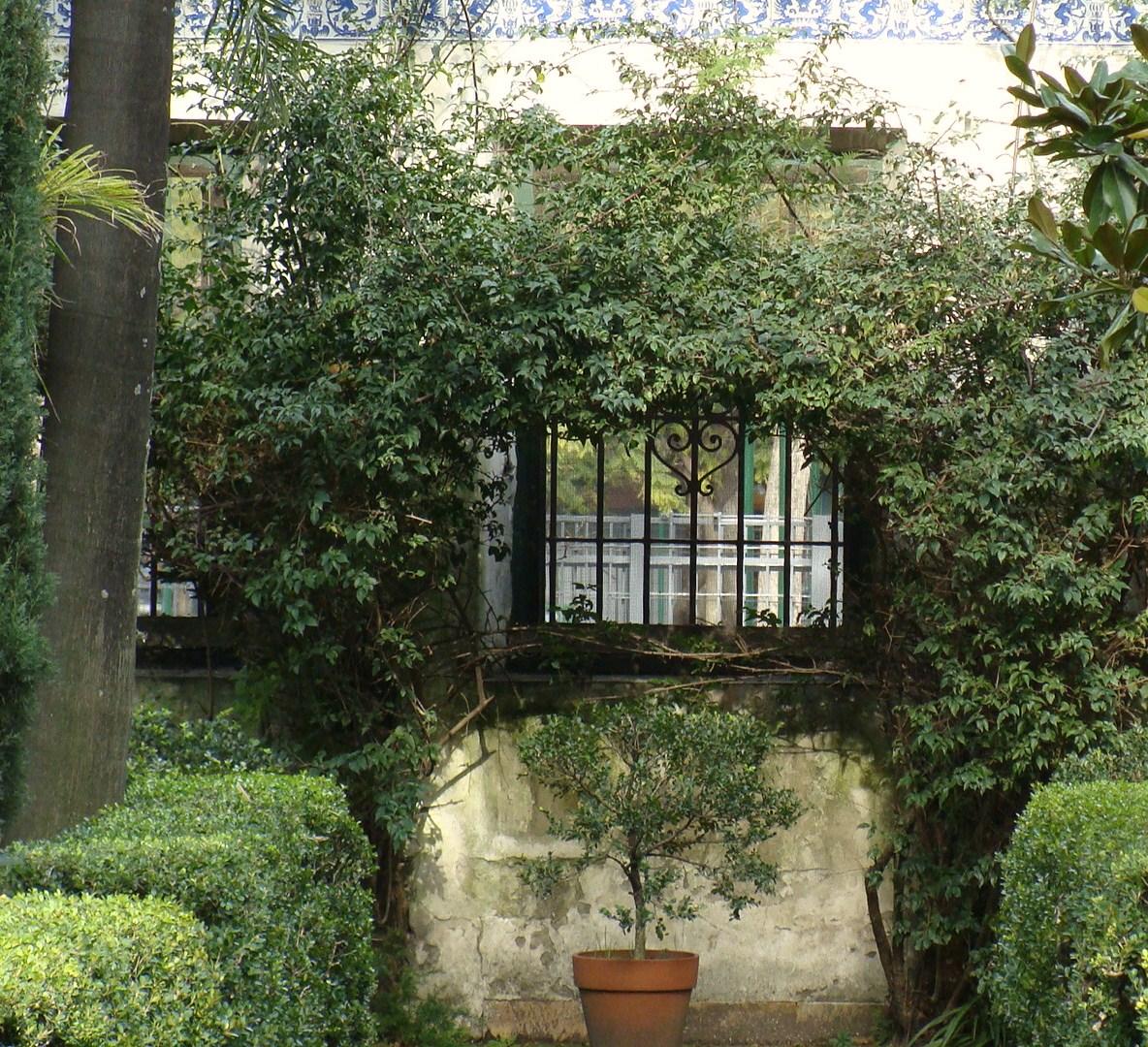 Arte y artesan a jard n del museo de arte espa ol enrique for Jardin spanish