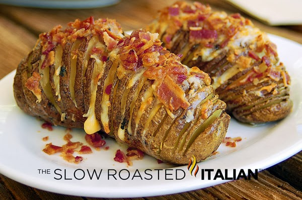 ... smoky bacon, these Bacon Cheddar Hasselback Potatoes are exactly what