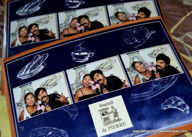fun snaps at the photo booth