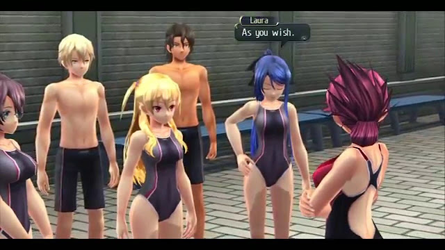 The Legend of Heroes: Trails of Cold Steel swimsuits