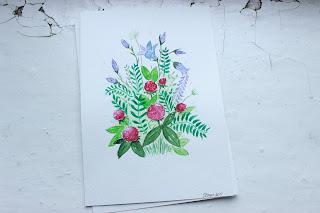 акварельные рисунки, на заказ, рисуночки, красивые рисунки, открытки своими руками,