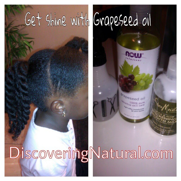 Grapeseed Oil And Natural Hair
