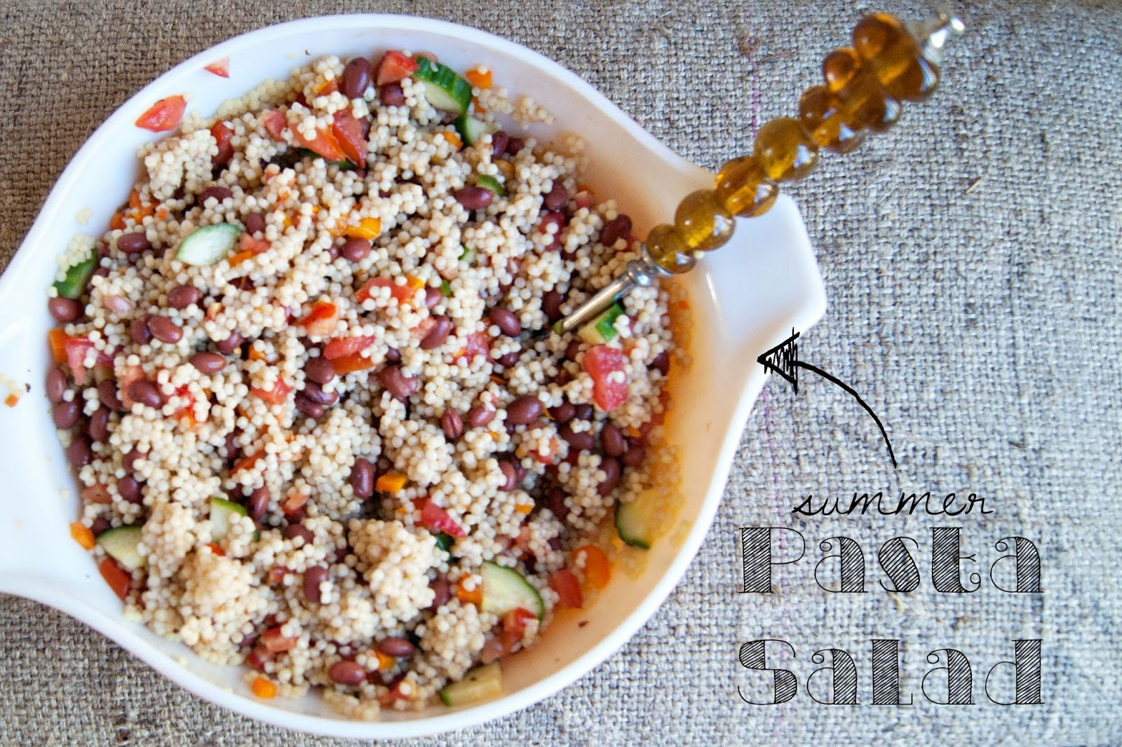 Summer Pasta Salad {recipe} | Averie Lane: Summer Pasta Salad {recipe}