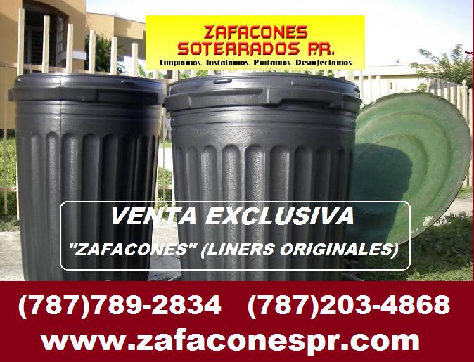 ZAFACONES SOTERRADOS PR