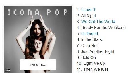 Icona Pop Girlfriend Icona Pop: Watch the n...