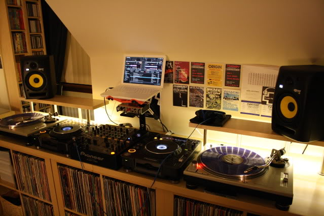 One Fresh Blog: How to build a DJ Booth from Ikea parts