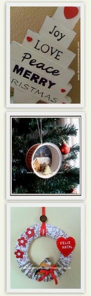 Idéias de Natal - DIY