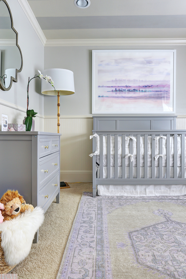 Megans Honey Were Home Nursery Design for the One Room Challenge