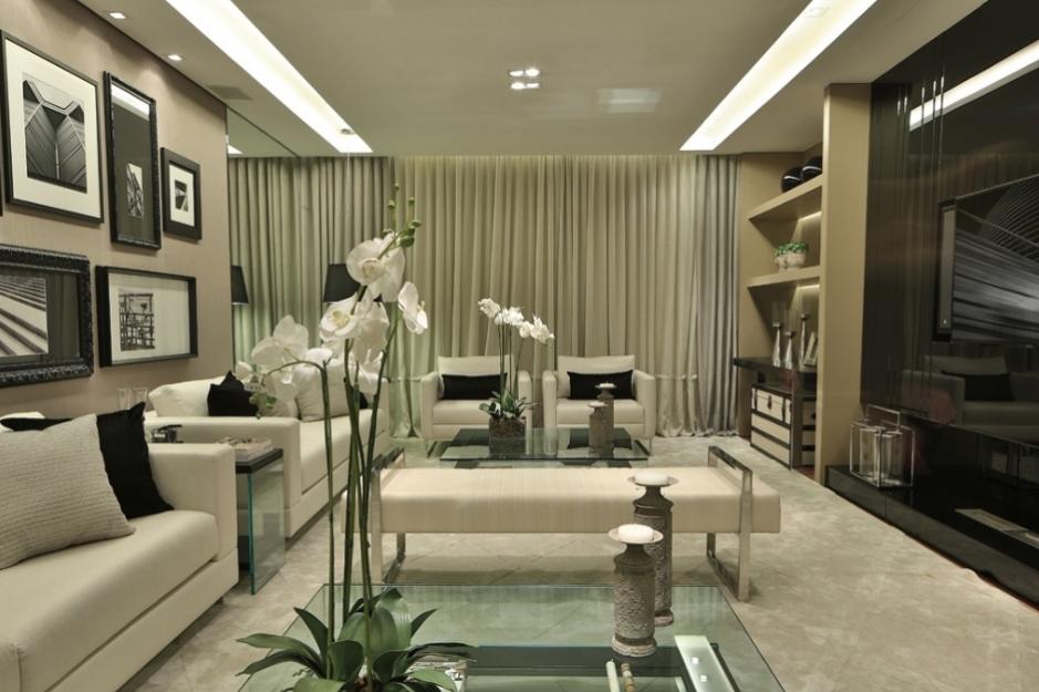 Sala De Estar Ou Living ~ Salas de TV – veja 30 modelos lindos e dicas decoração!  Decor