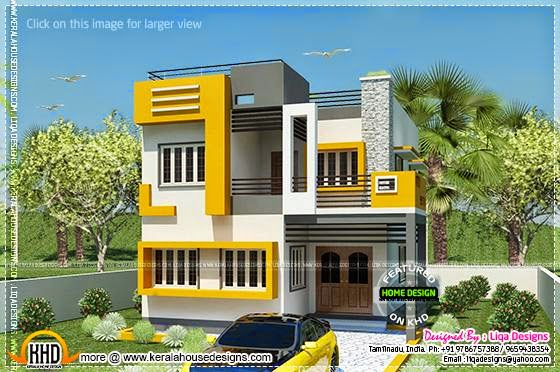 Tamil house modern style