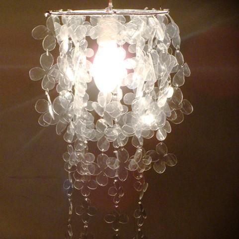 Reciclagem   Lumin  Ria De Garrafas Pet