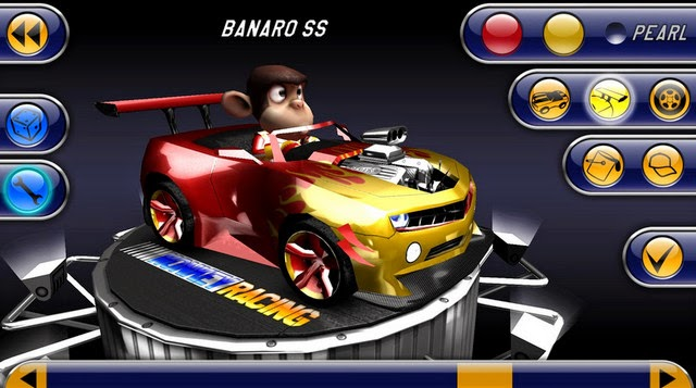 Monkey Racing android screenshot