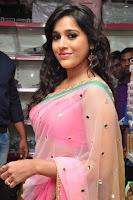 Rashmi Gautam Latest 2016  Stills In Pink Saree (6).JPG
