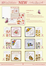3D CARD EMBRODIERY PATTERN SHEETS BY ANN'S PAPER ART