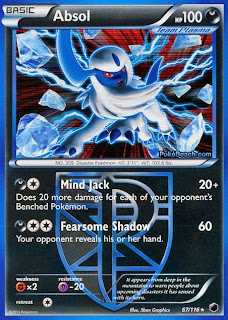 Absol Plasma Freeze Pokemon Card